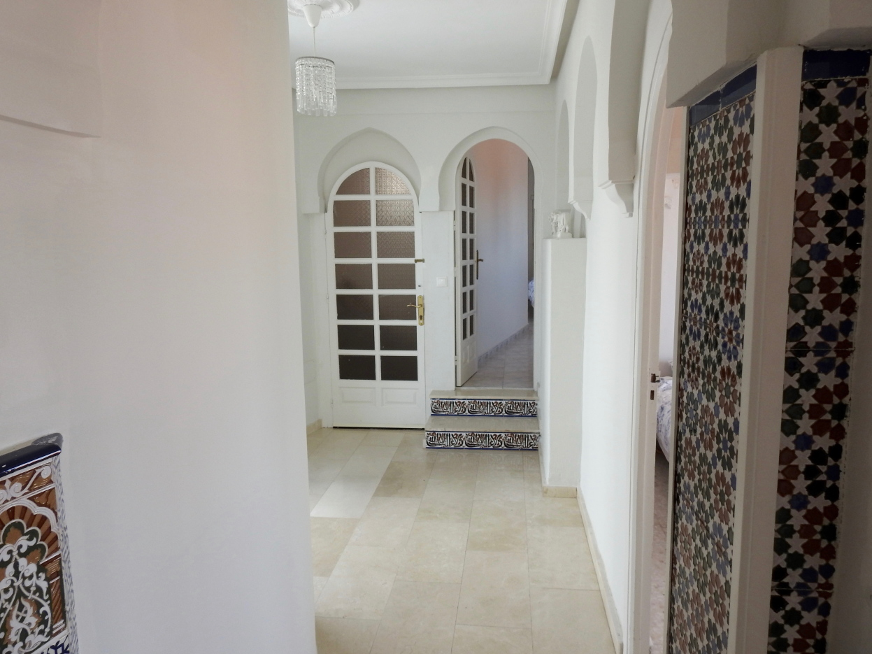 Penthouse entry
